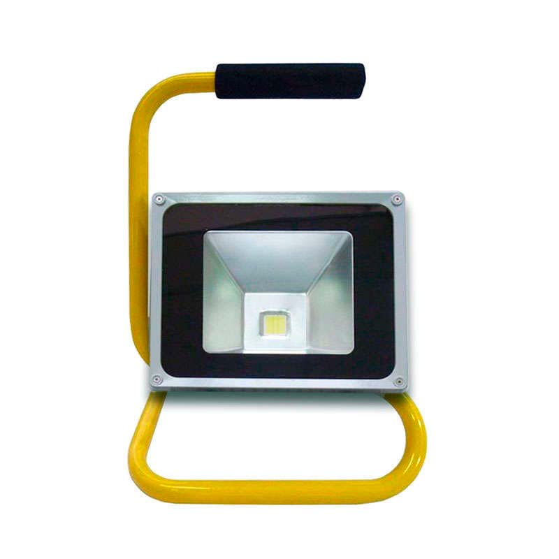 LED flood light support